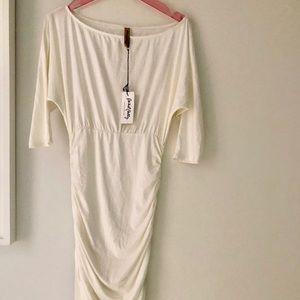 NWT brand new Rachel Pally white dress size Small